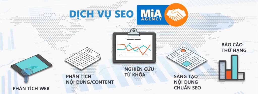 thiết kế website chuẩn seo mia agency