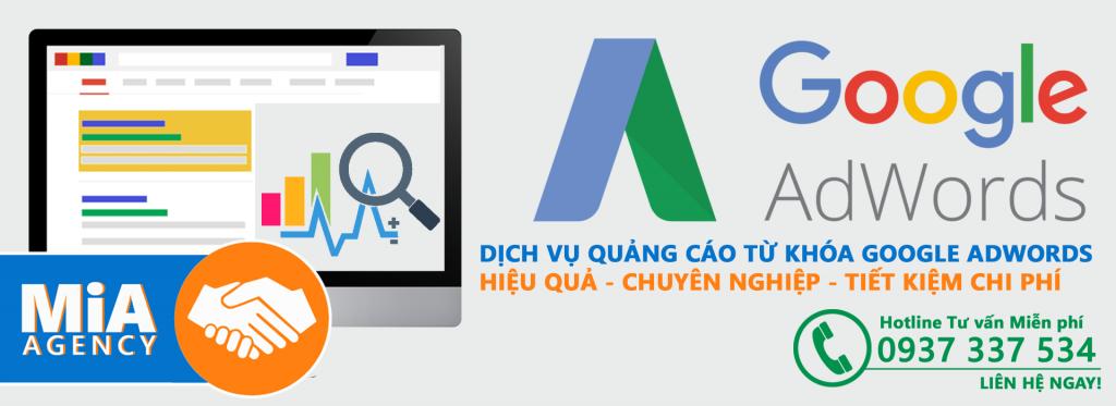 dịch vụ quảng cáo google adwords từ khóa giá rẻ