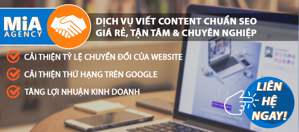 dịch vụ seo và content