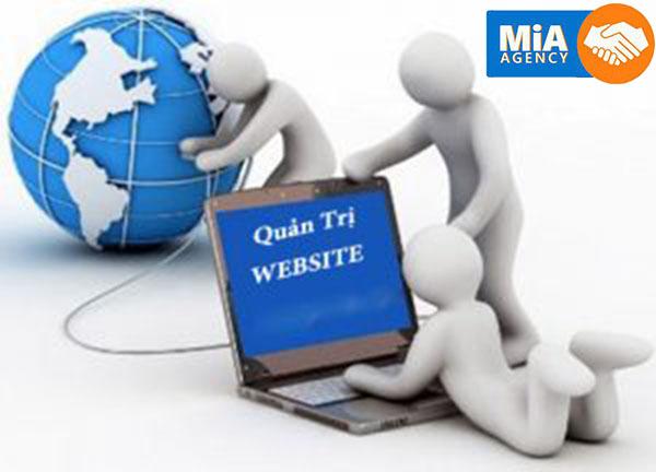 Quy trình quản trị website